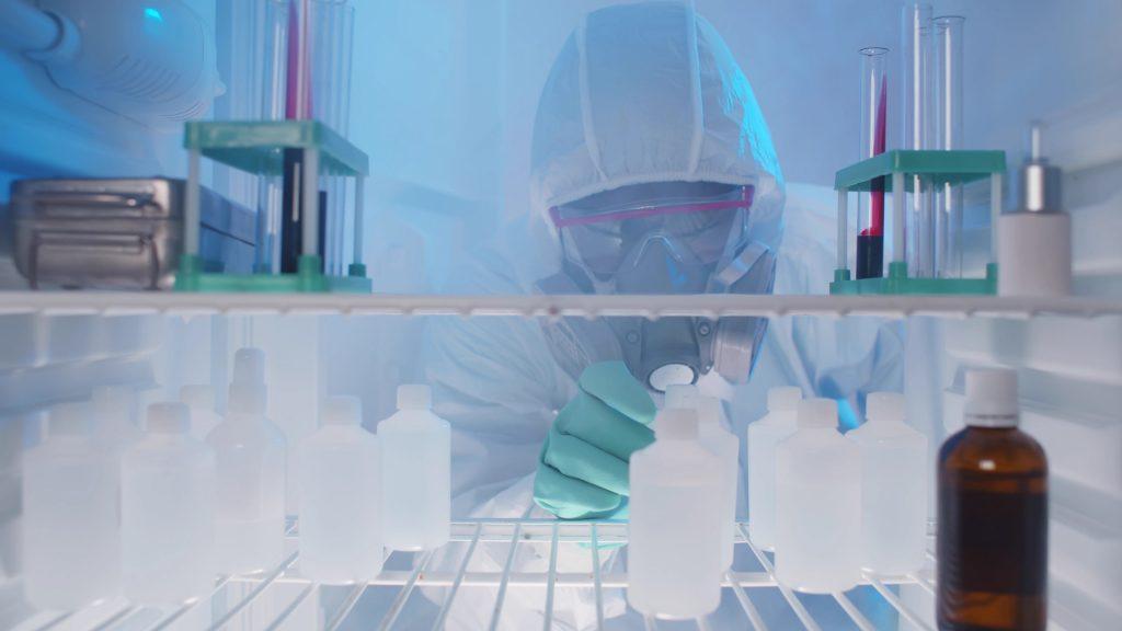 congelateur-laboratoire